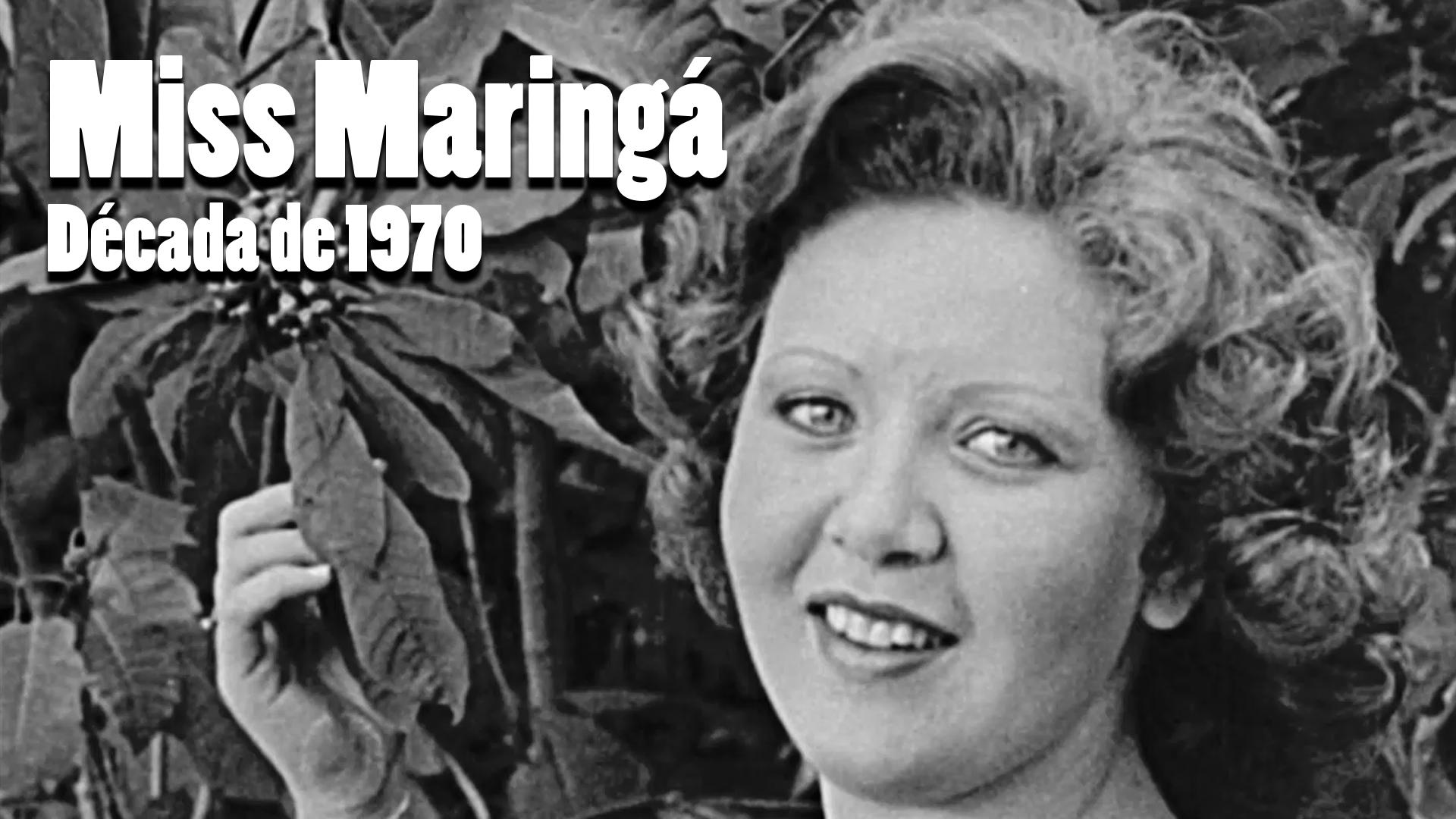 RARIDADE - Miss Maringá nos anos 1970