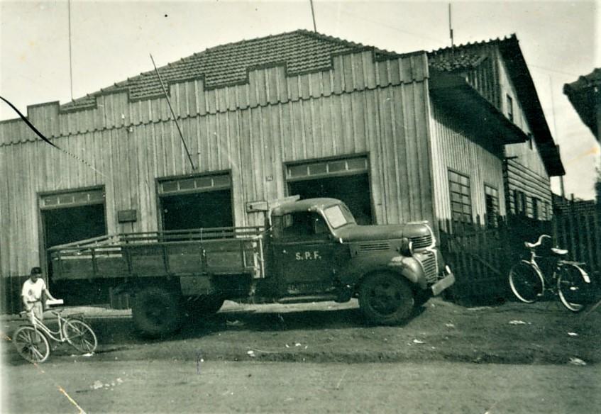 Agência dos Correios e Telégrafos - 1957