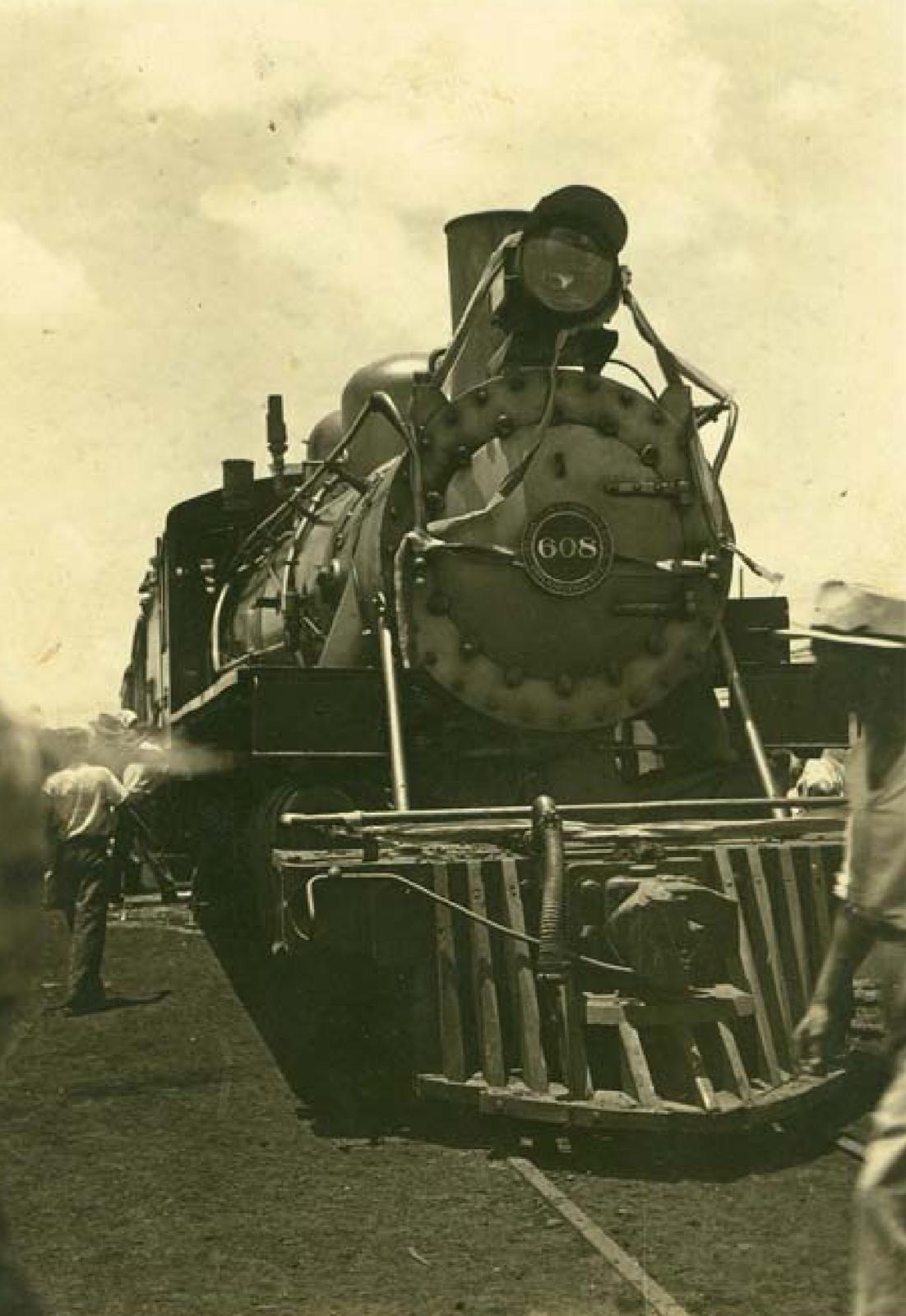 Locomotiva 608 (Maria Fumaça) - 1954