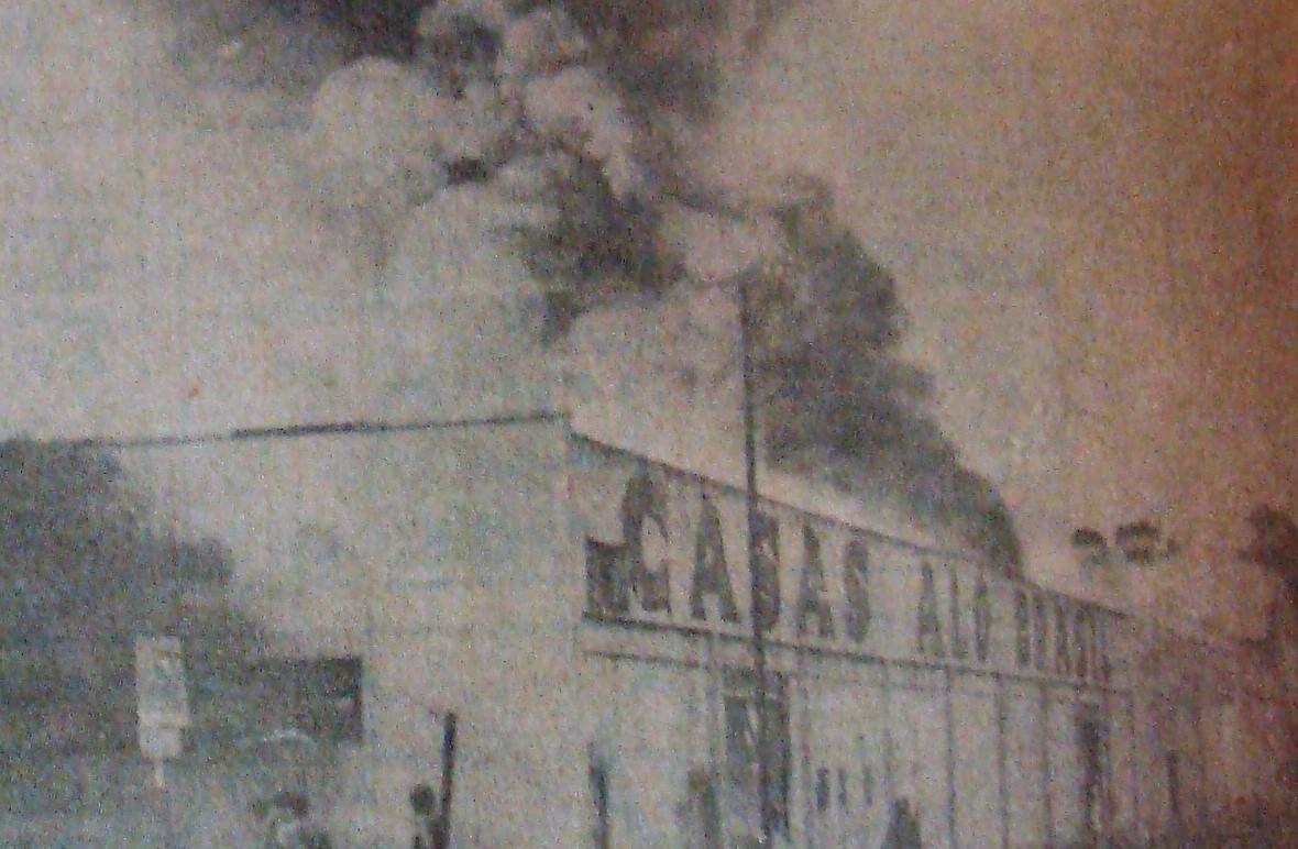 Incêndio na Casas Alô Brasil - 1984