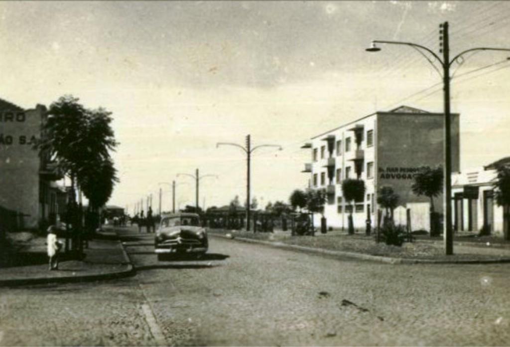 Avenida Duque de Caxias - 1956