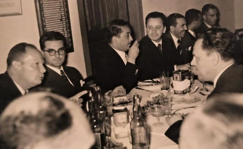 Jantar em homenagem à Comarca de Maringá - 1954