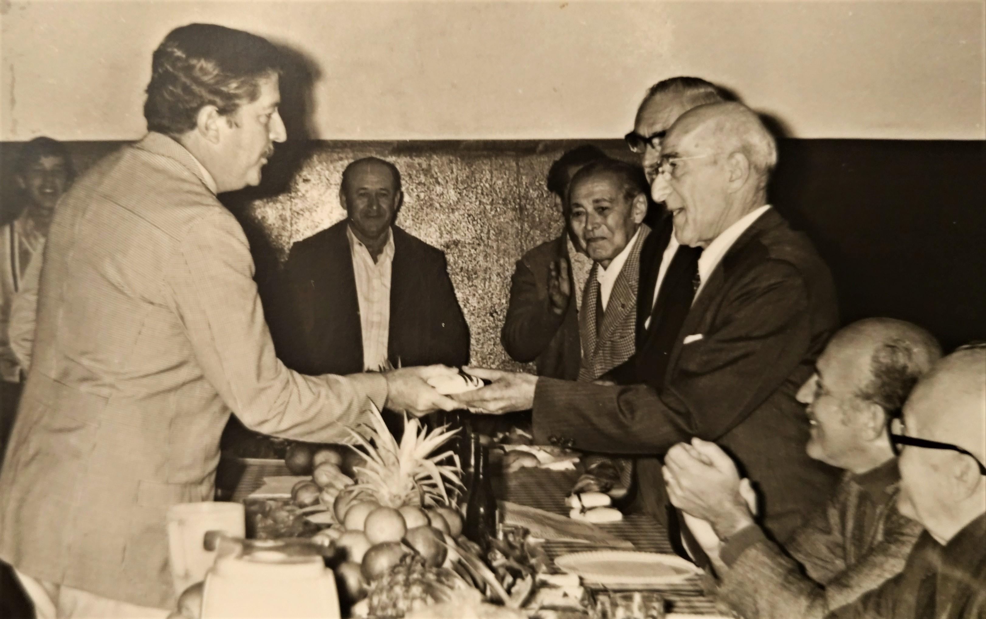 Almoço de confraternização da CMNP - 1972