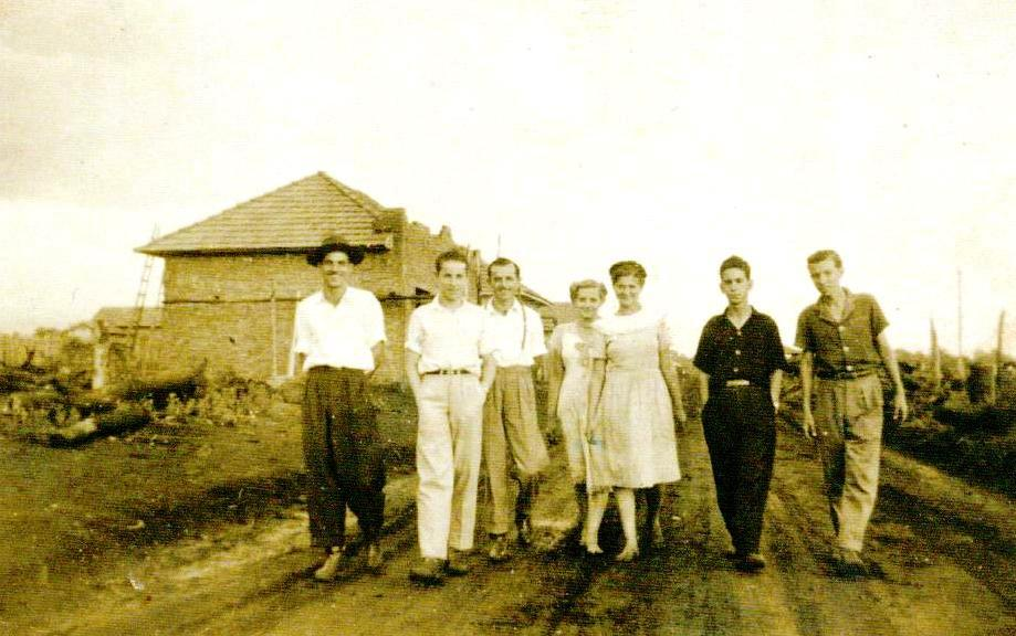 Família Aliberti - Década de 1940