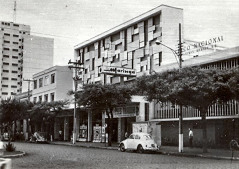 Avenida Getúlio Vargas - Final dos anos 1960