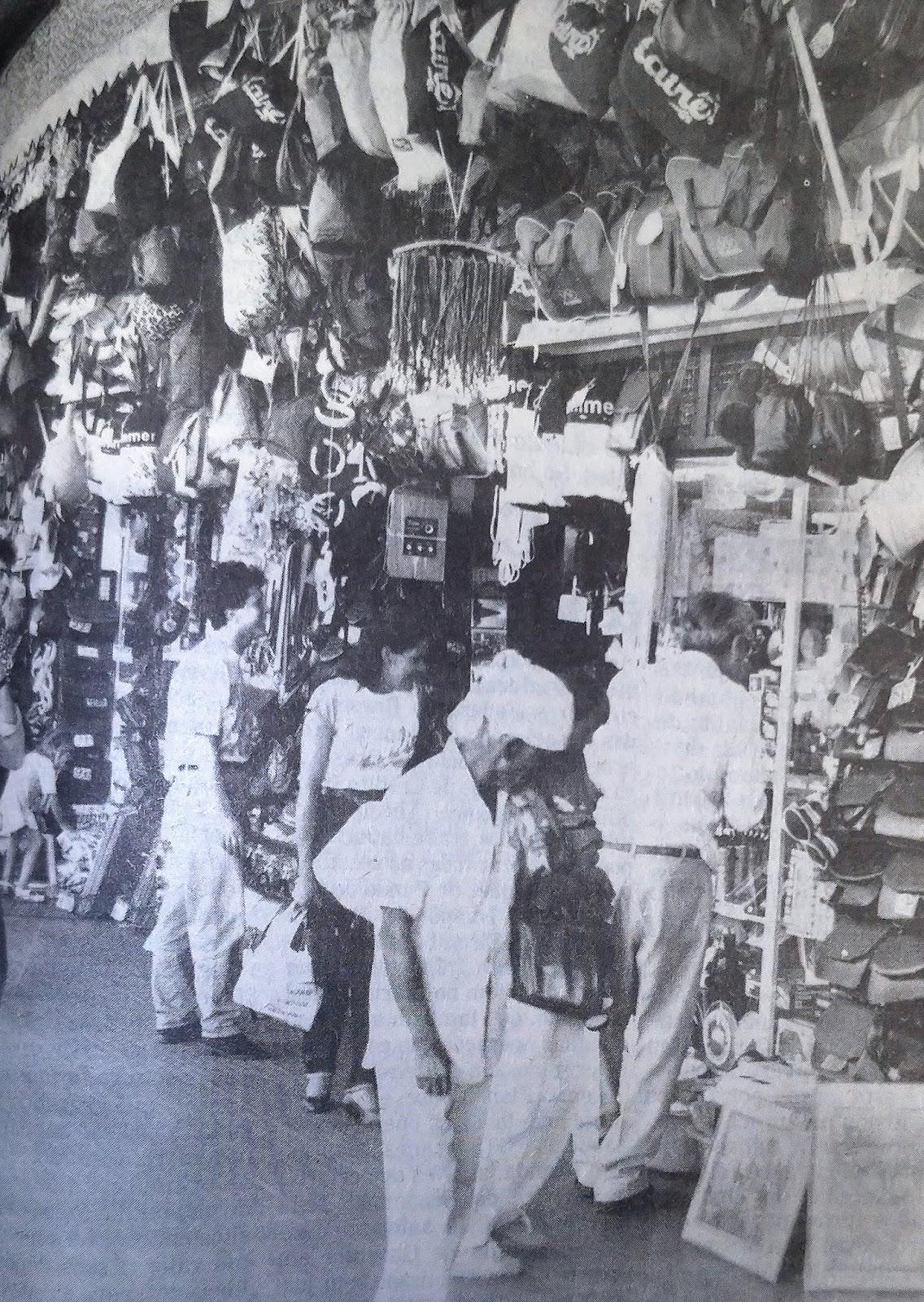 Lojas da Rodoviária de Maringá - 1990