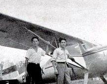 Pilotos e seus aviões - 1949