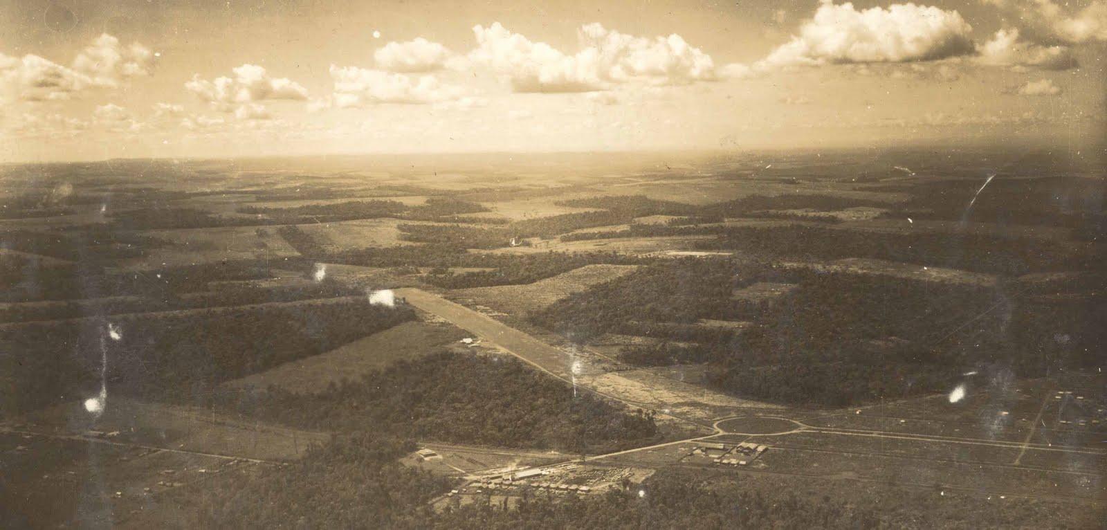 Campo de Aviação - Final da década de 1940