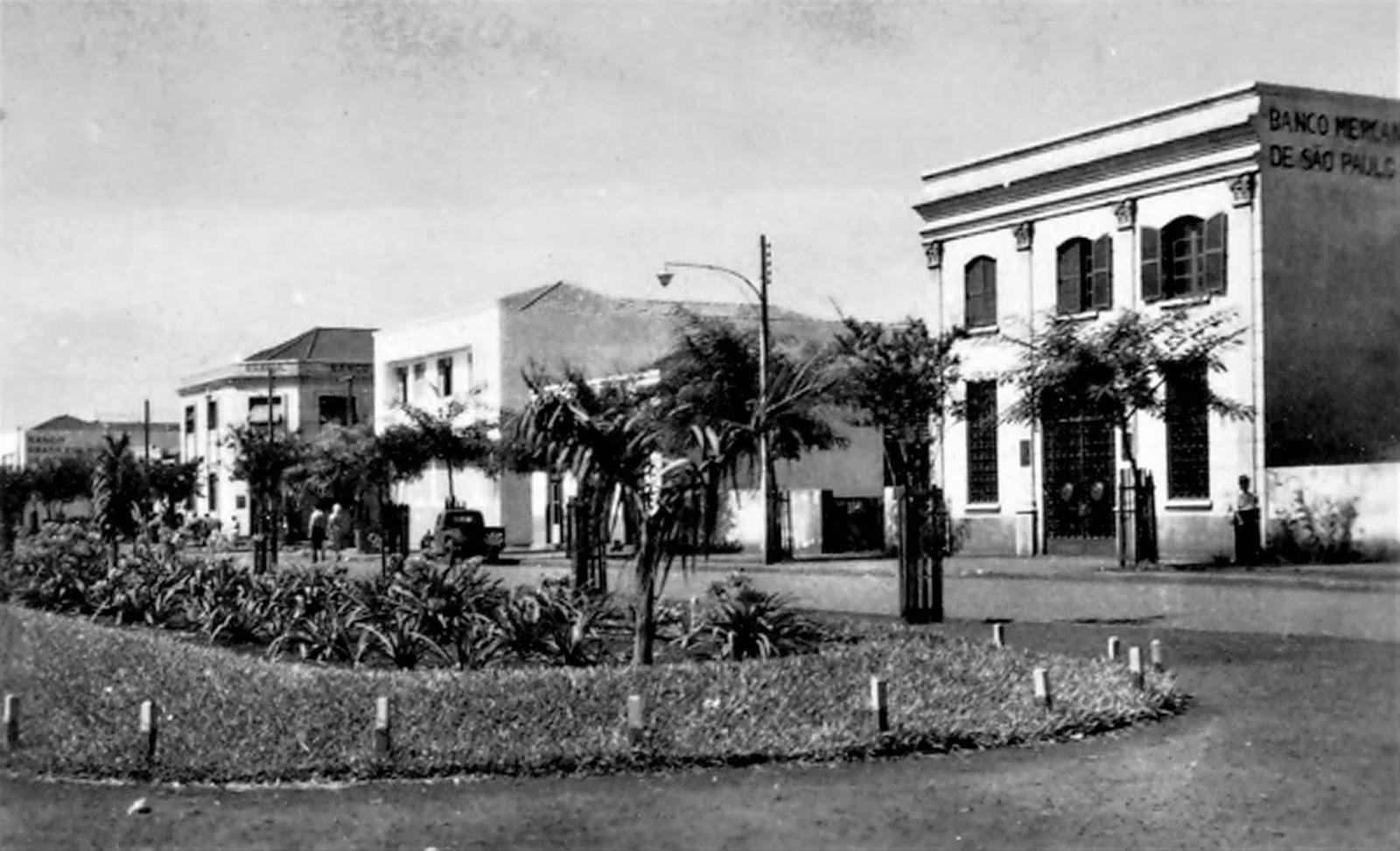 Avenida Getúlio Vargas - Década de 1950