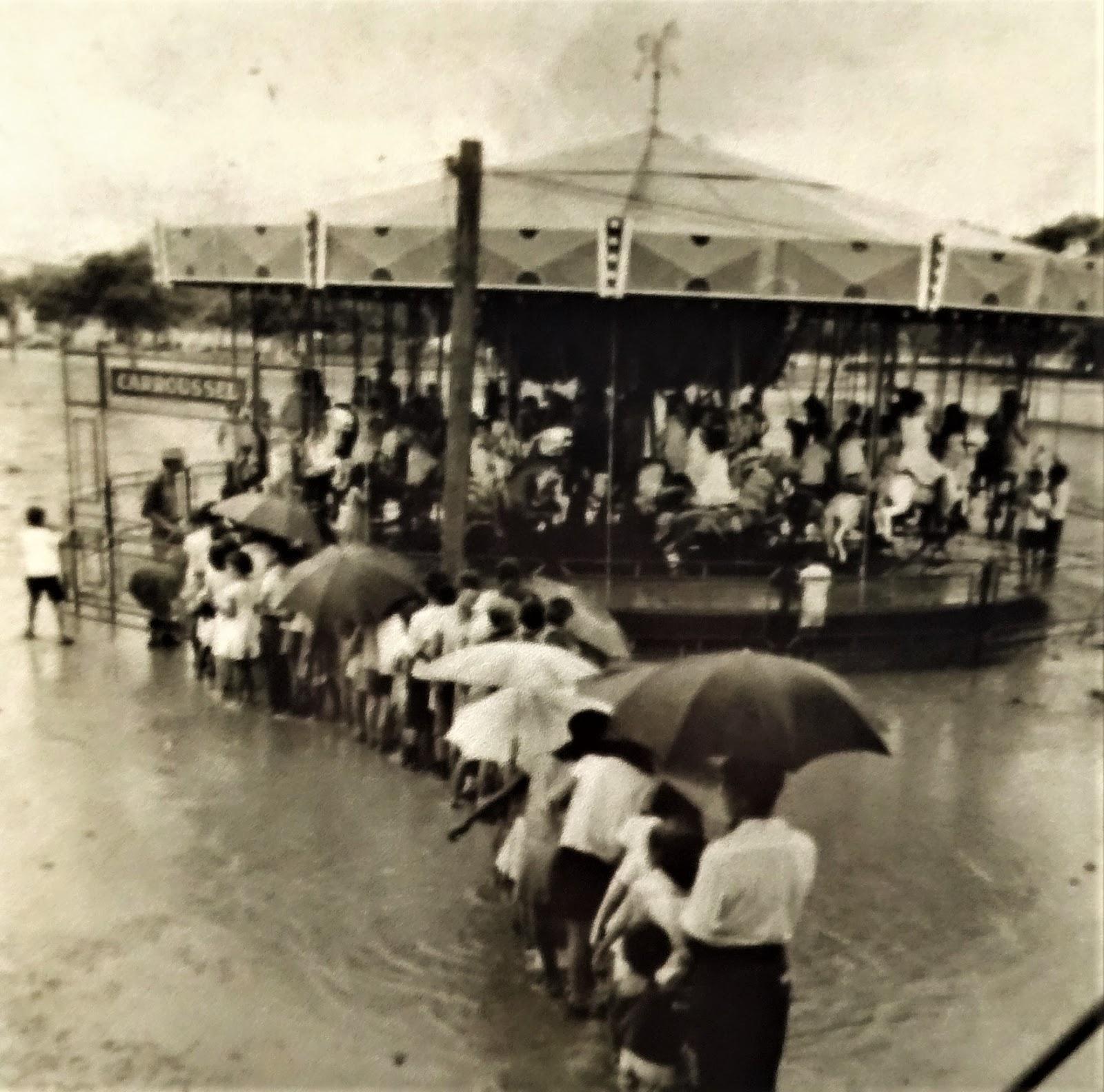 Carrossel em Maringá - Década de 1960