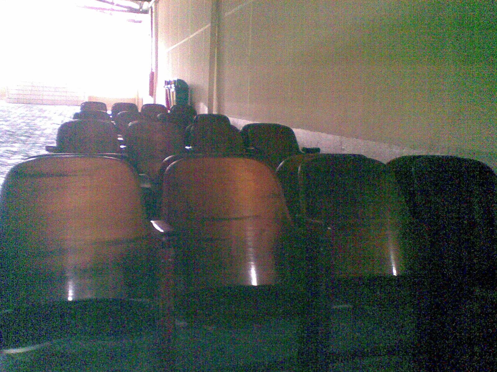Bancos do Cine Horizonte