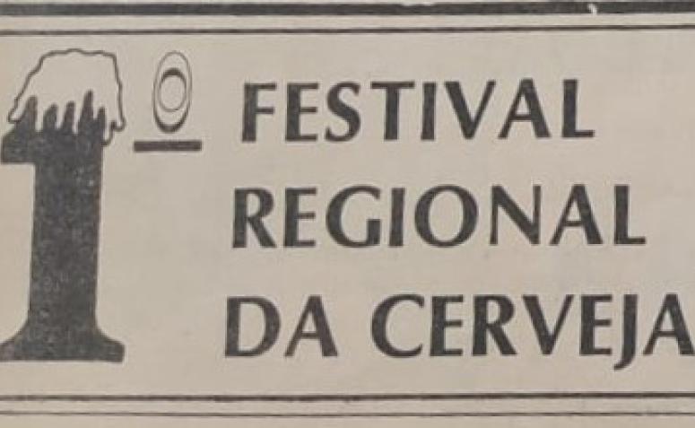 1º Festival Regional da Cerveja - 1976