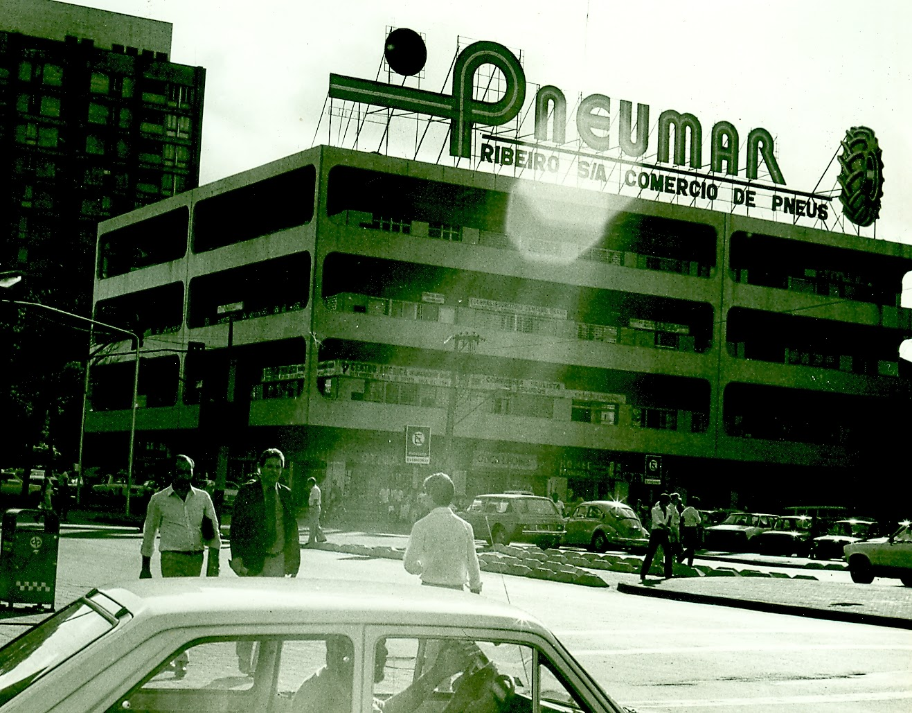 Centro Comercial Maringá - Década de 1980