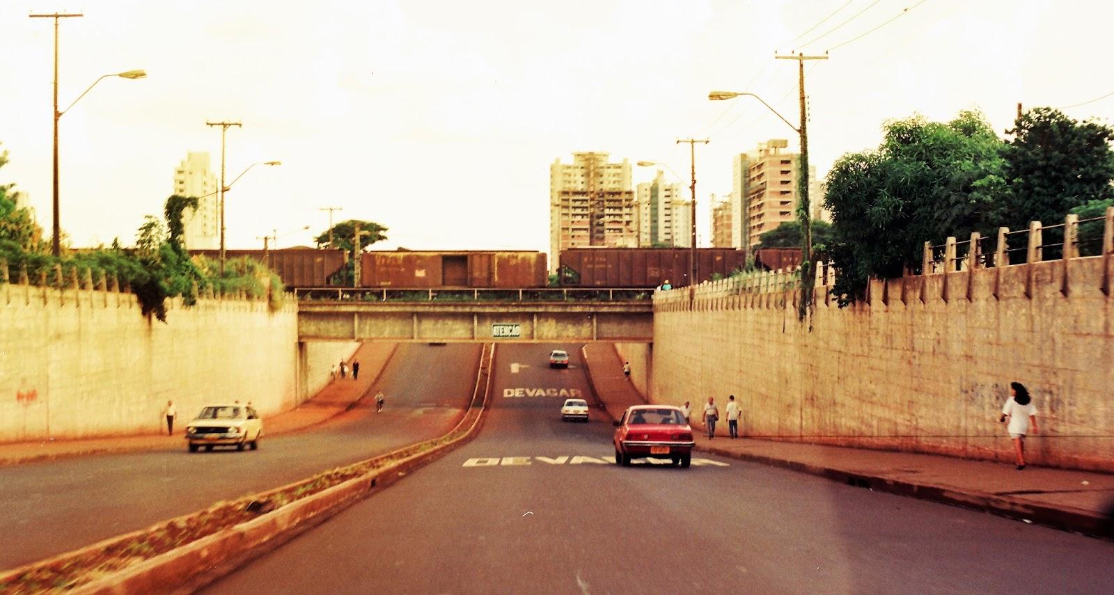 Viaduto do Café - Década de 1980
