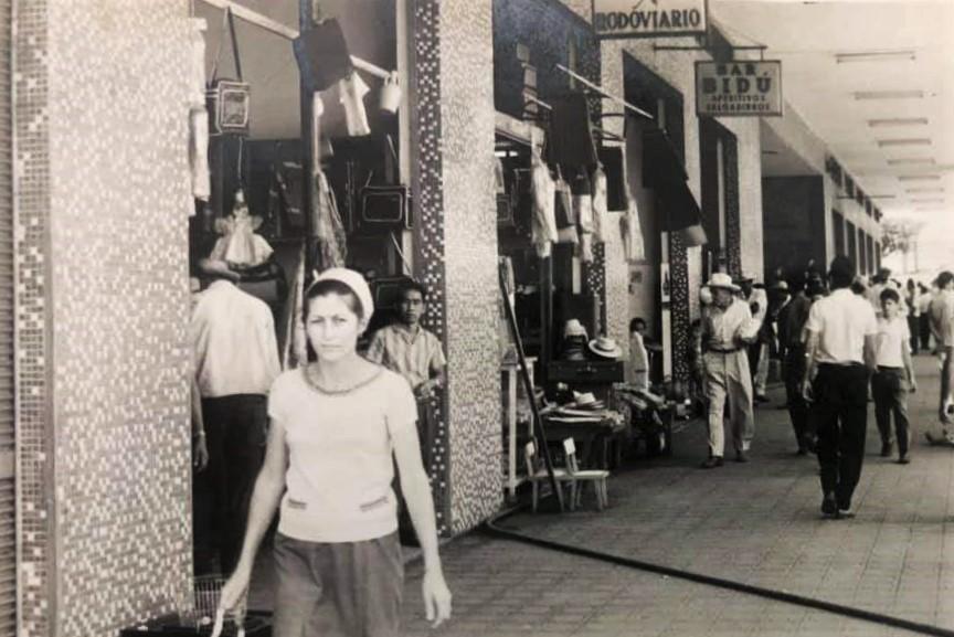 Lojas da Rodoviária - Anos 1980