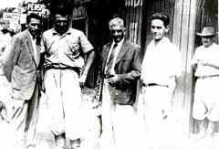 O quarteto no Maringá Velho - 1947