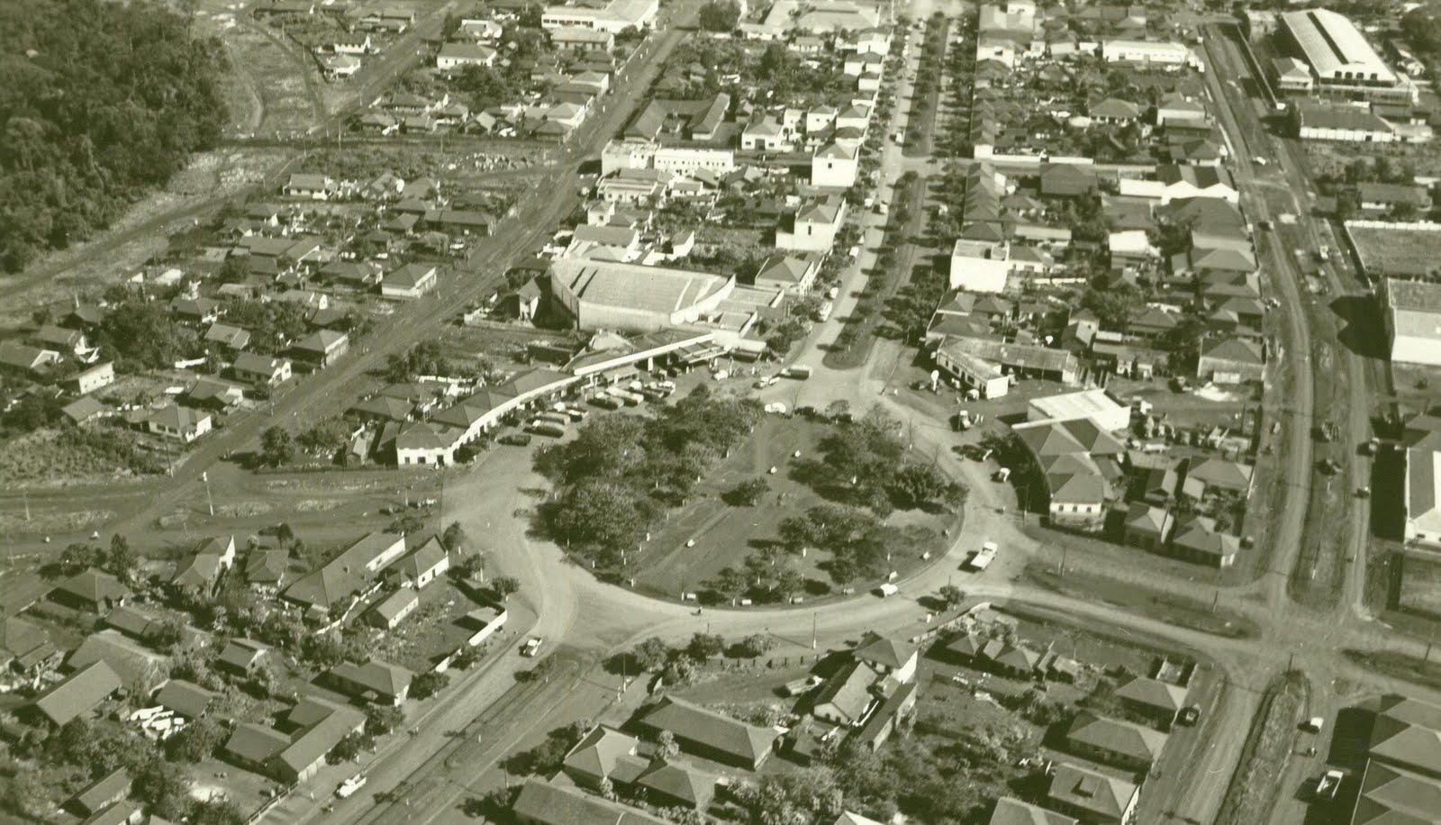 Praça Rocha Pombo - 1960