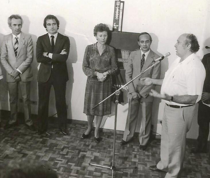 Said Ferreira na inauguração da sede da ACIM - 1983