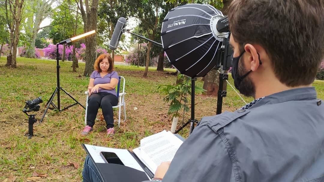 Novos depoimentos para o documentário sobre a história política de Maringá