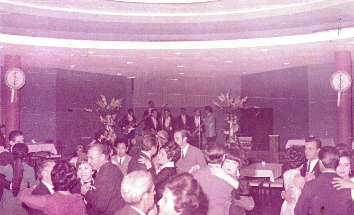 Baile - Sociedade Médica de Maringá - 1968
