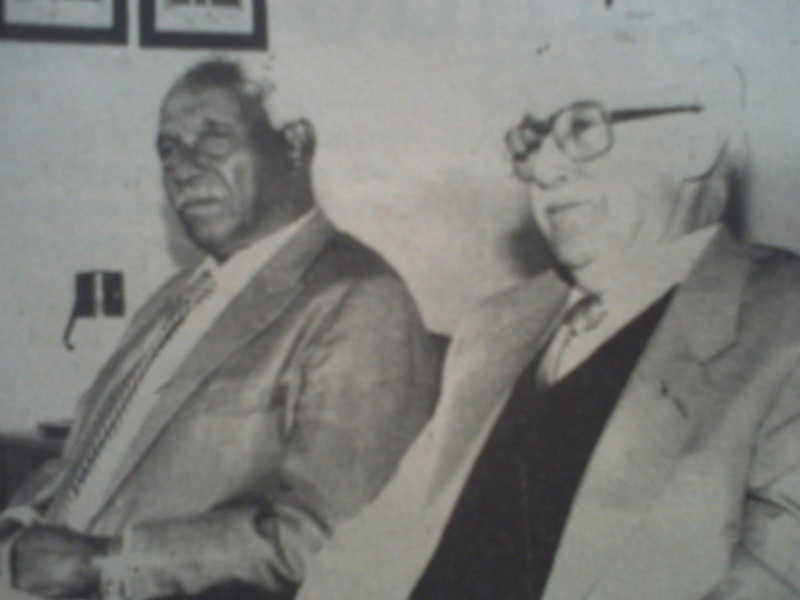 José Rodrigues dos Santos e Bonifácio Martins