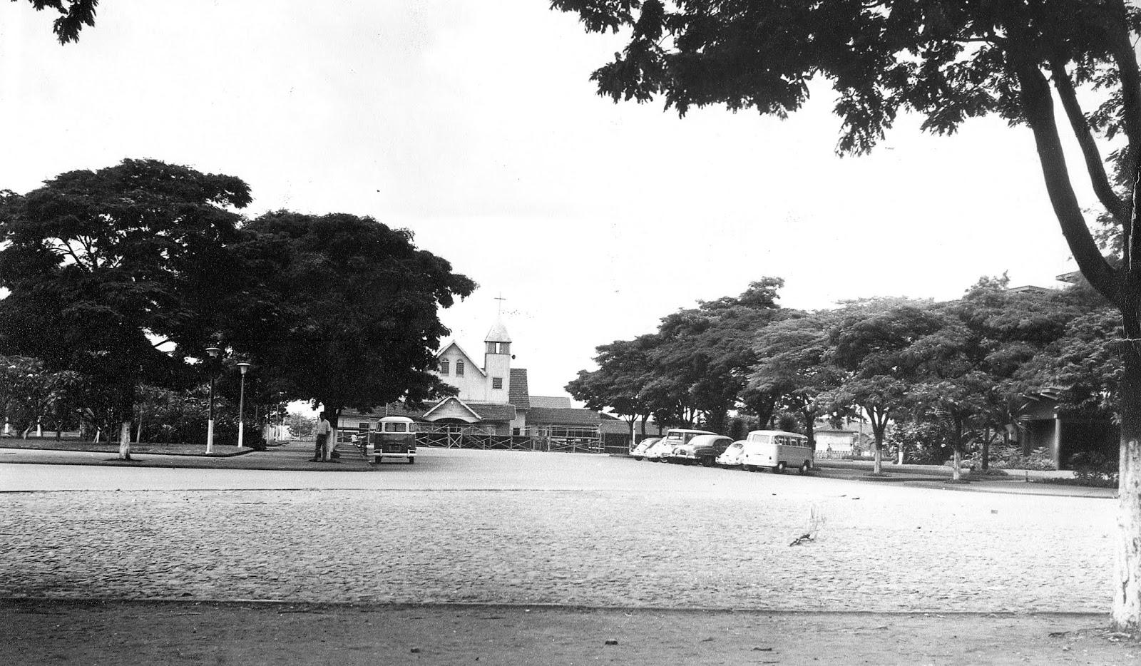 Praça Dom Pedro II - 1967