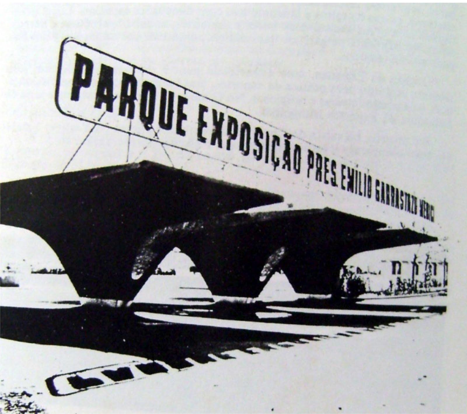 Os nomes do Parque de Exposições de Maringá