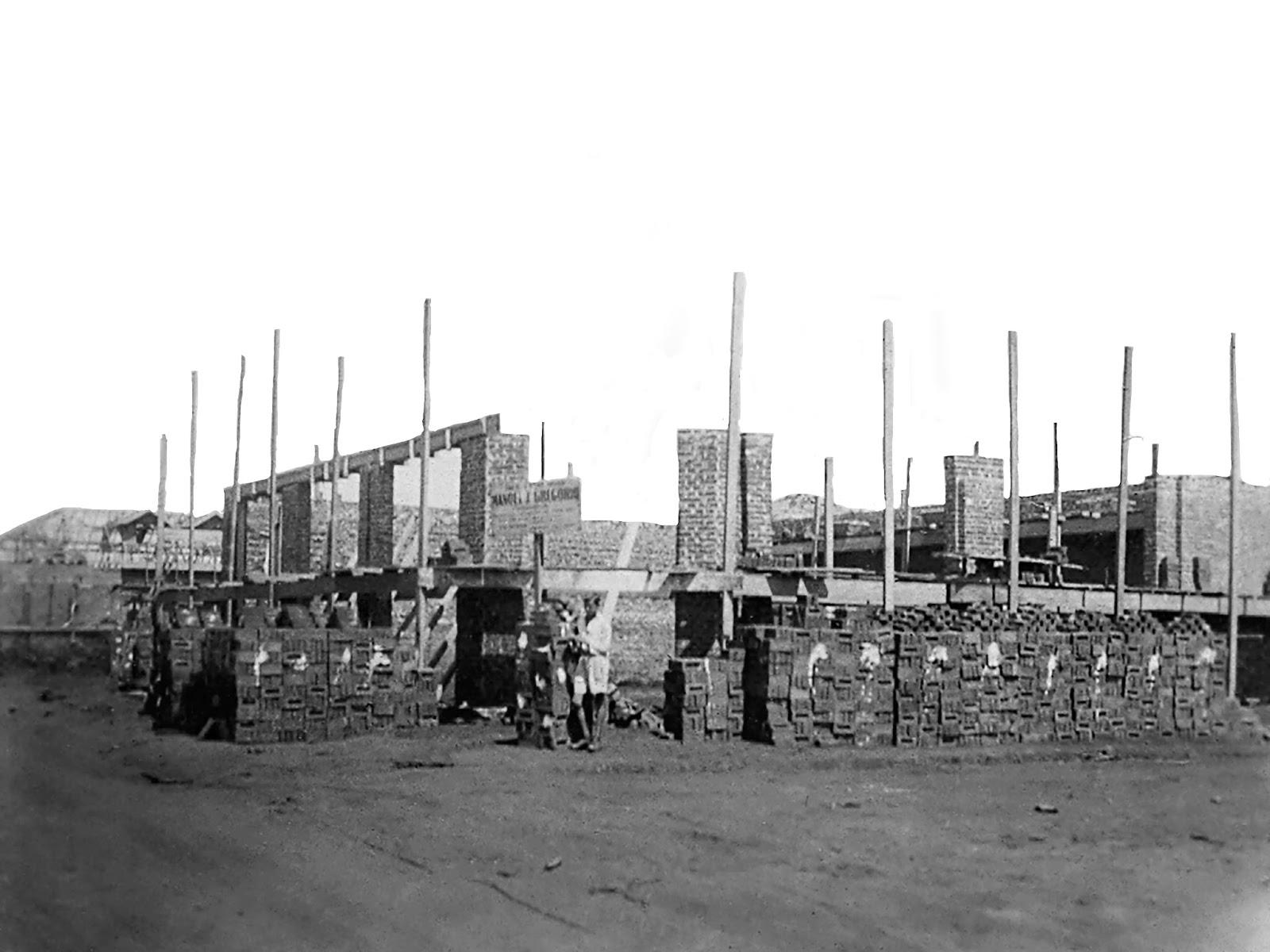 Casas Pernambucanas em construção - Década de 1940