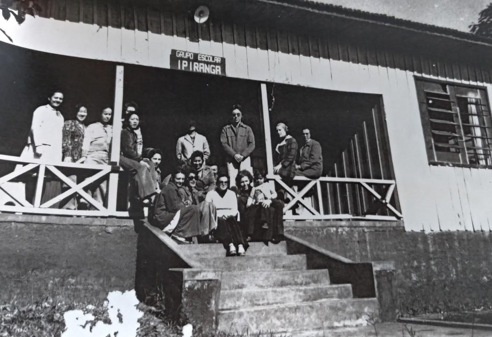 Grupo Escolar Ipiranga - Década de 1960
