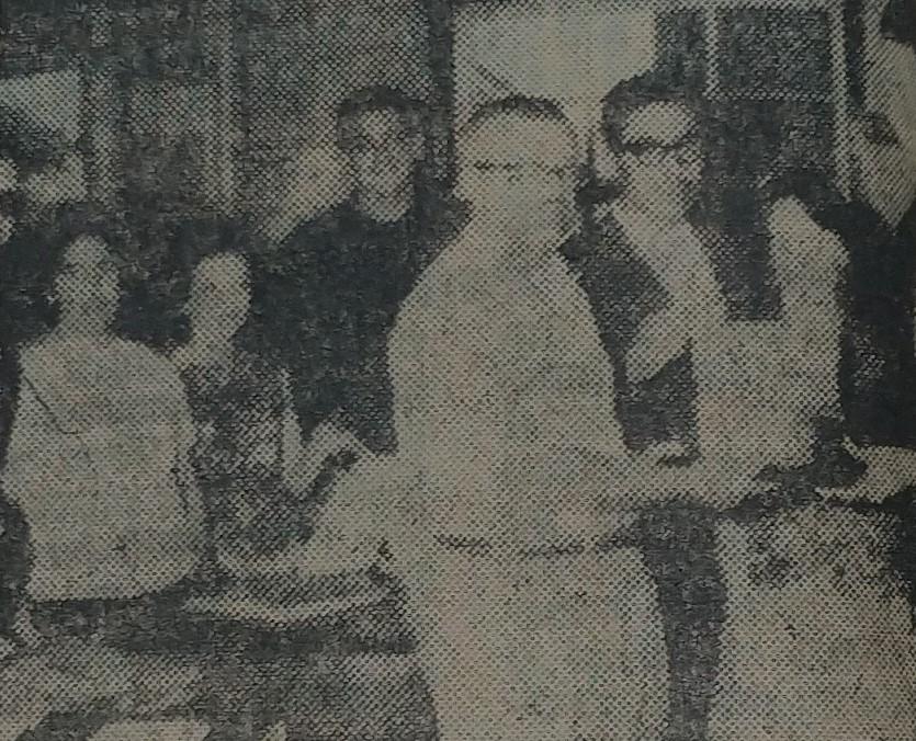 Doação de livros à Biblioteca - 1962
