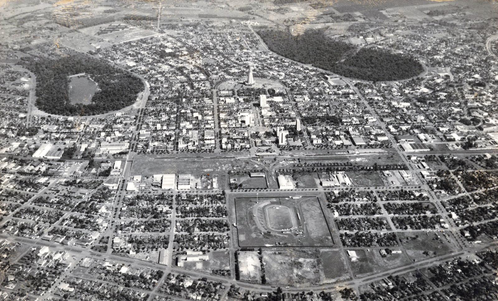 Vista aérea - 1972