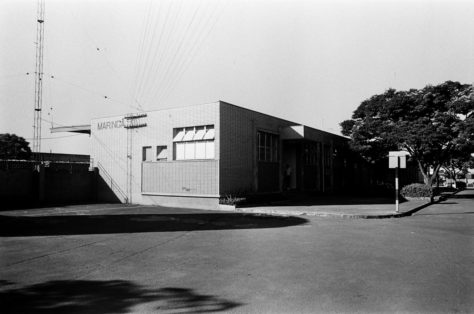 Estação Ferroviária de Maringá - Final dos anos 1980