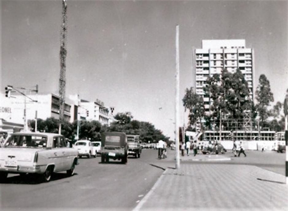 Avenida Brasil x Praça Raposo Tavares - Anos 1960