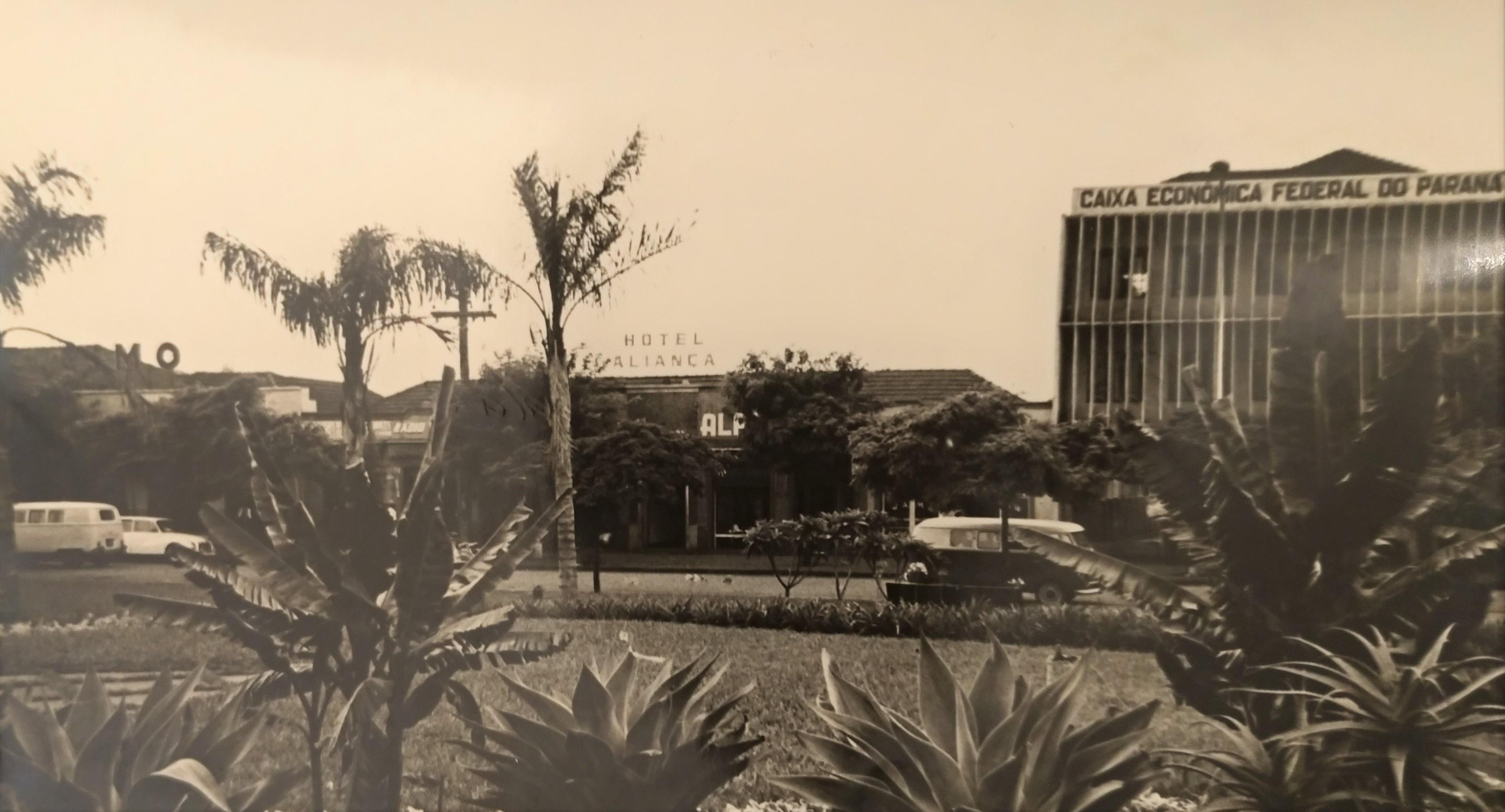 Rua Santos Dumont - Final dos anos 1960