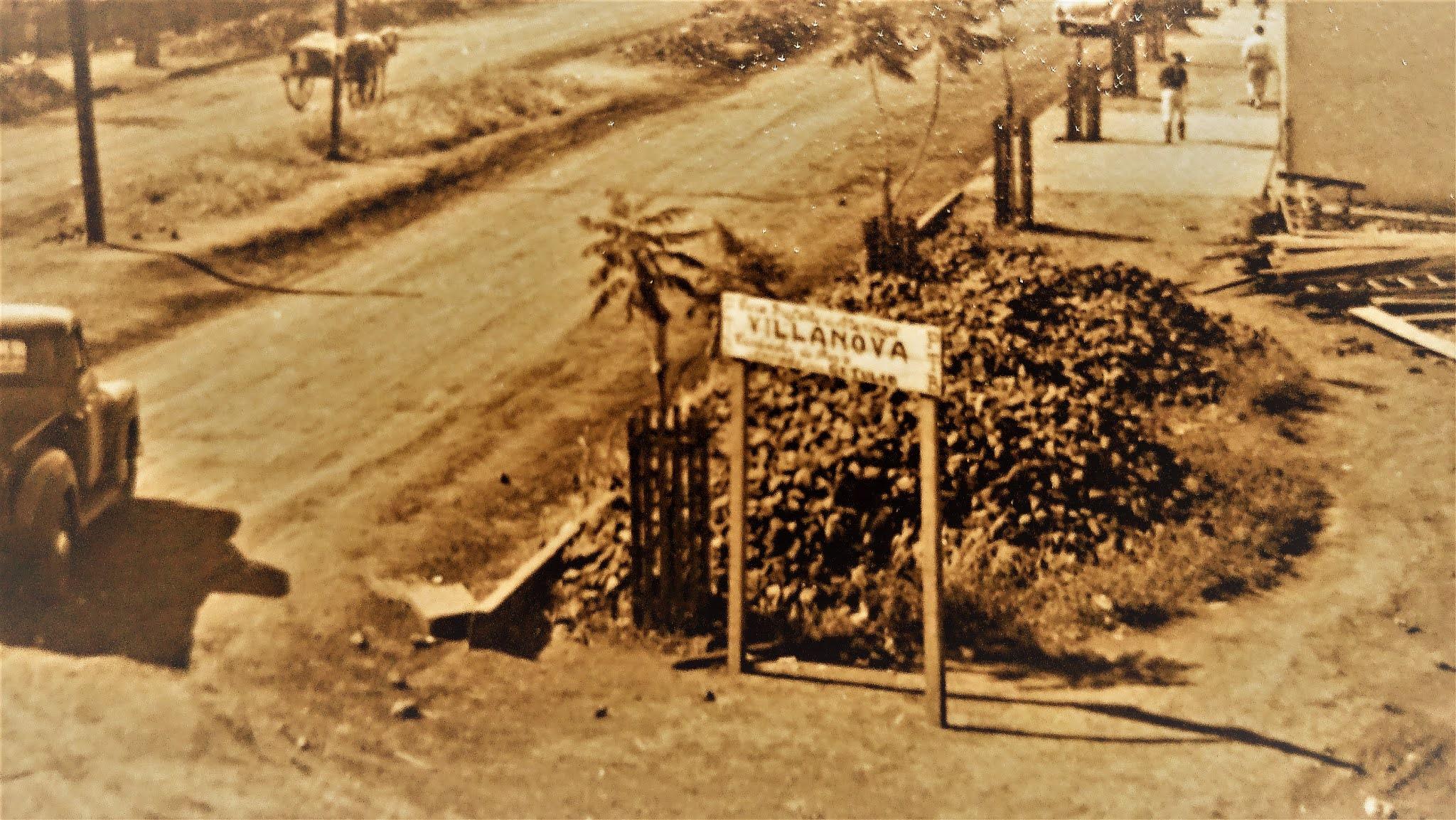 Avenida Duque de Caxias - 1952