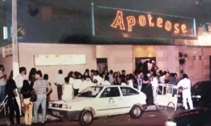 Fachada da Apoteose - Anos 1990