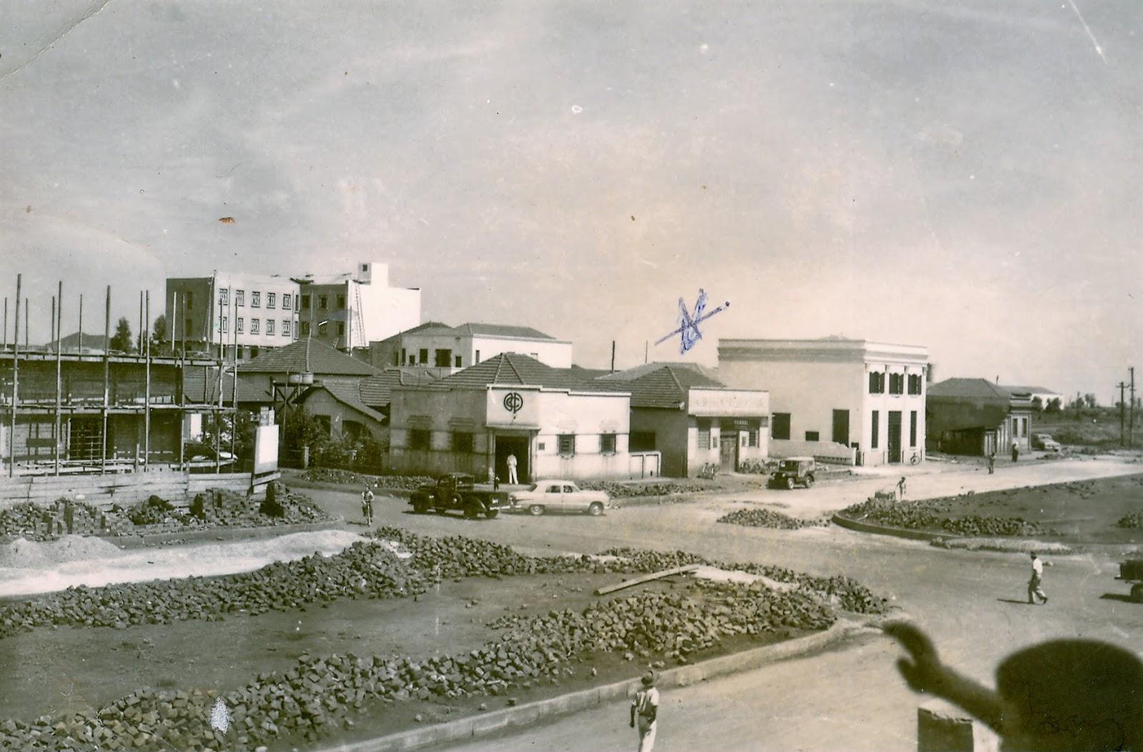 Avenida Ipiranga - 1955