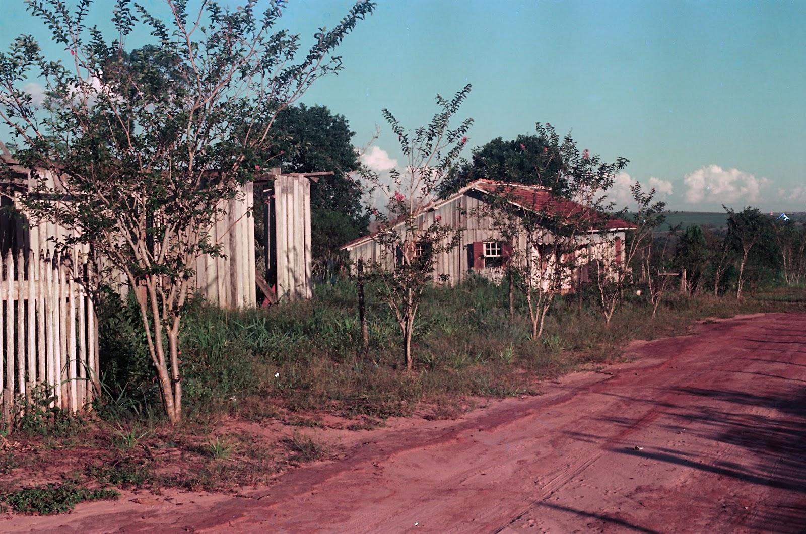 Casas na área da UEM - 1976