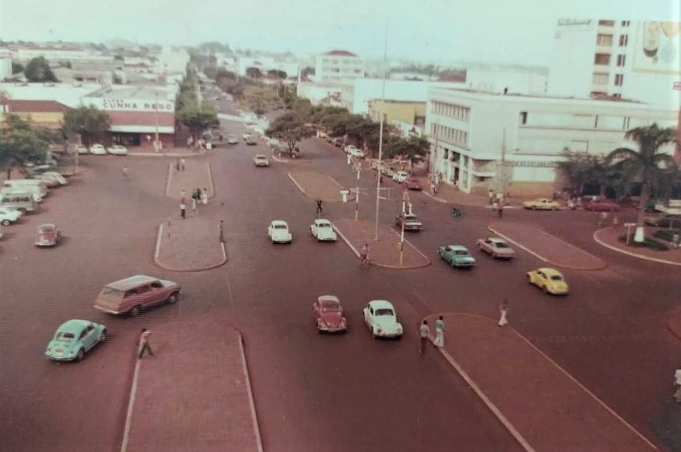 Avenida Brasil - Década de 1970