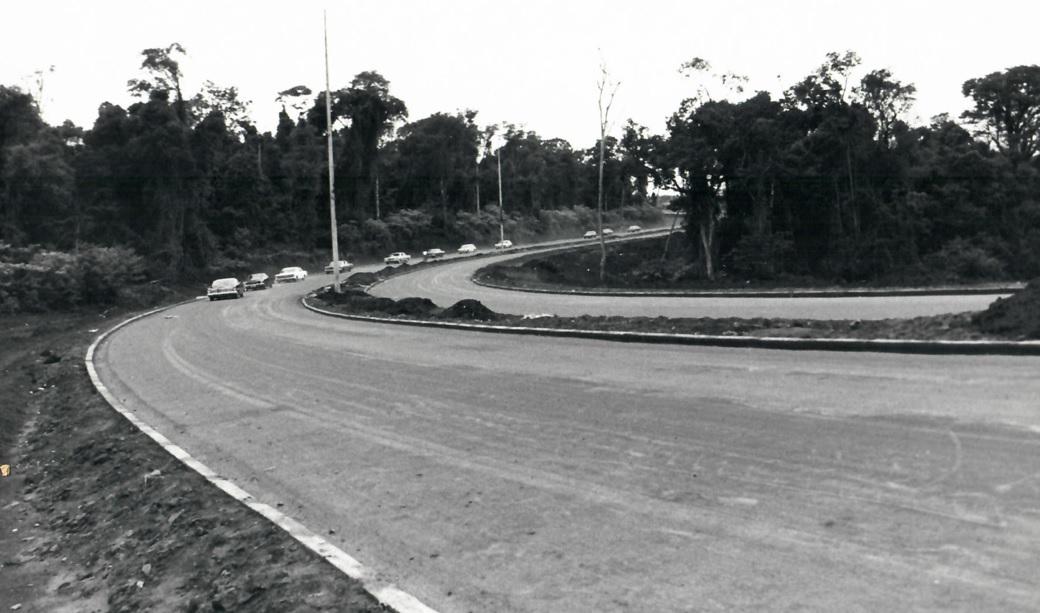 Avenida Perimetral Sul - Década de 1970