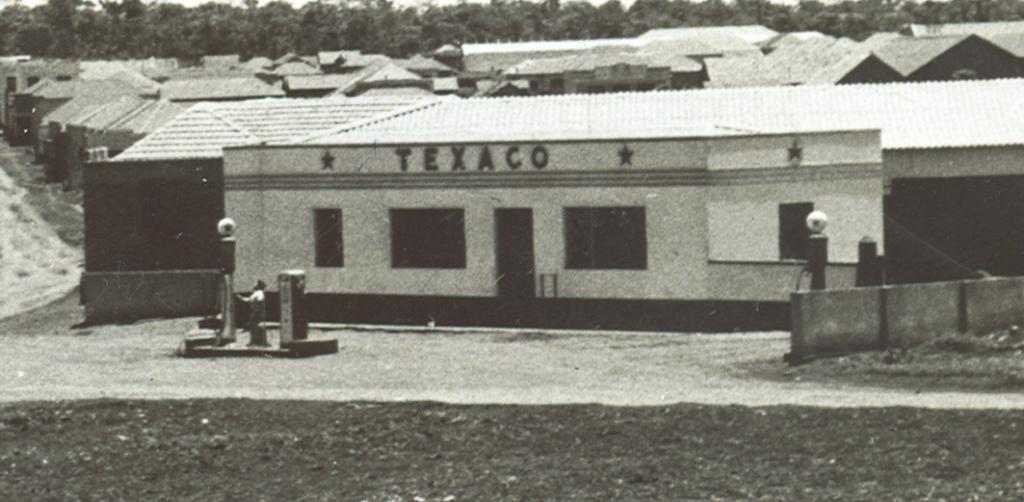 Posto Texaco - Década de 1950