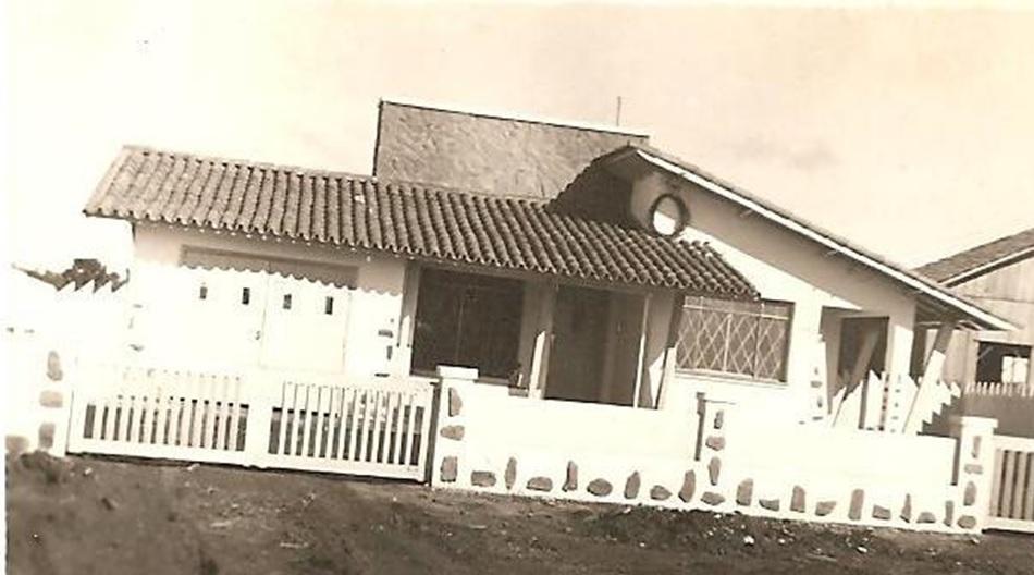 Residência da família Alcântara Rosa - 1953