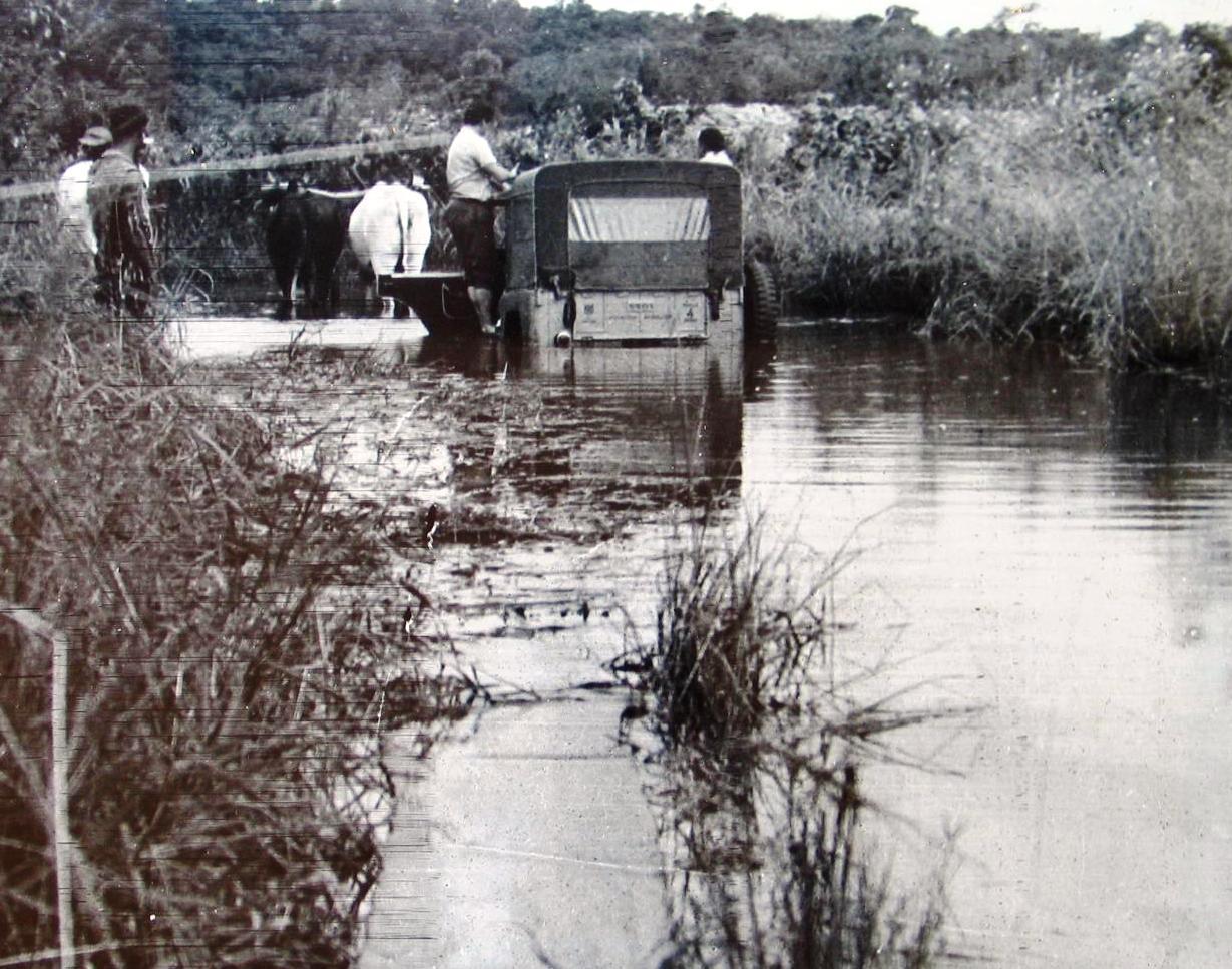 Entrada de Maringá - 1947