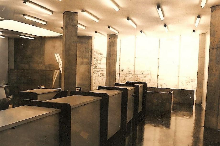 Interior do Banco Nacional - 1975