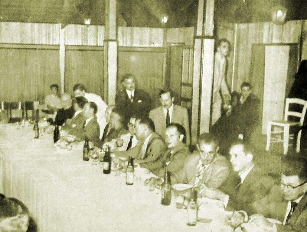 Banquete com Bento Munhoz da Rocha Neto - Década de 1950