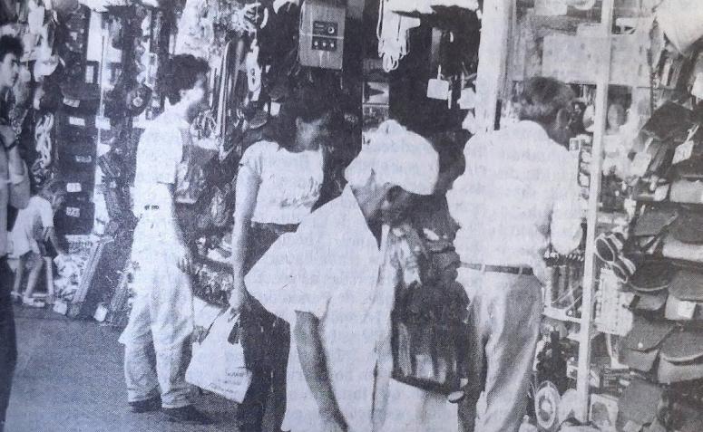 Lojas da Estação Rodoviária Municipal - 1990