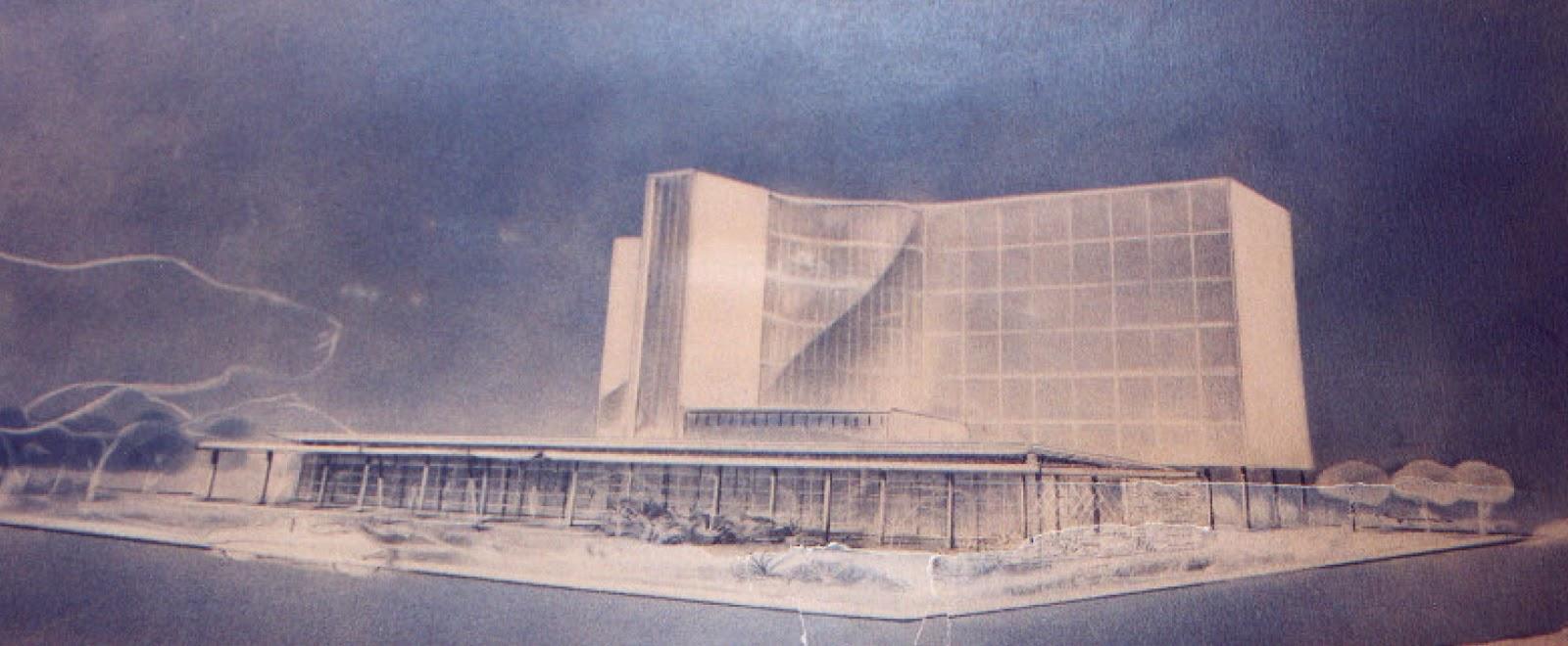 Anteprojeto do Grande Hotel Maringá - 1950