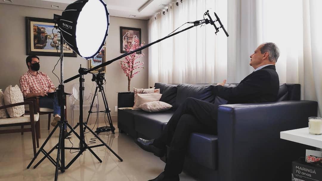 Tadeu França fala ao documentário