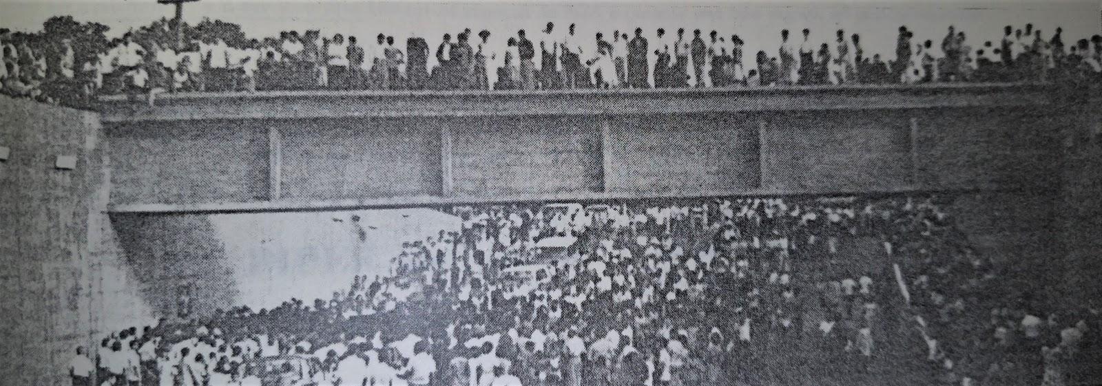 Inauguração do Viaduto do Café - 1966