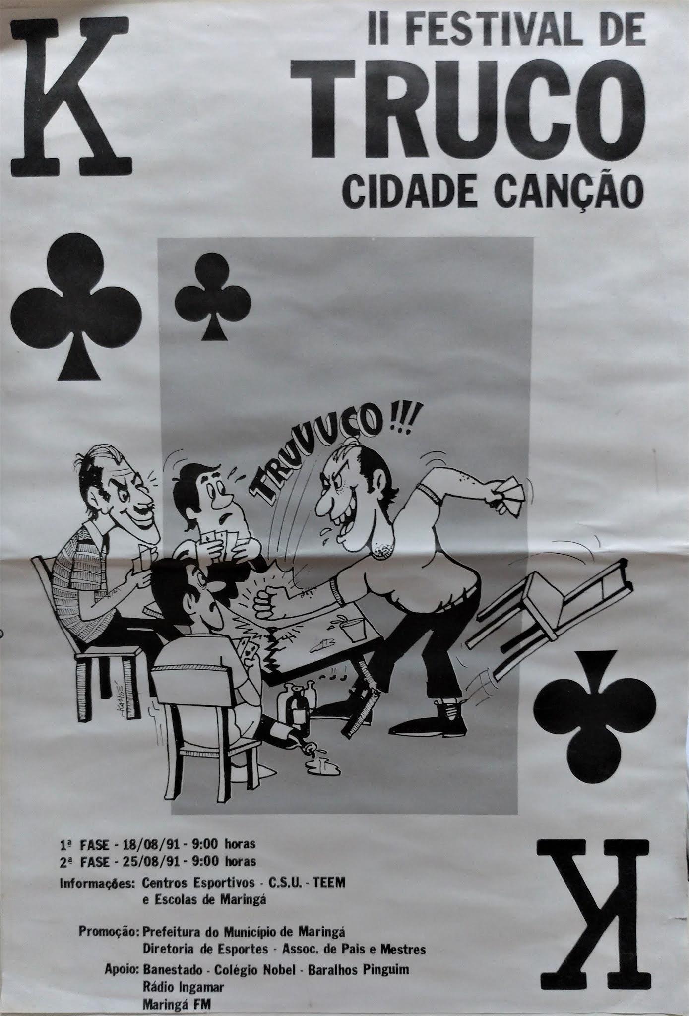 II Festival de Truco Cidade Canção - 1991